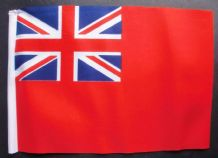 "BRITISH RED ENSIGN - SMALL BUDGET FLAG 9"" X 6"""
